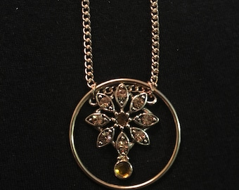 Amber and Ivy Necklace