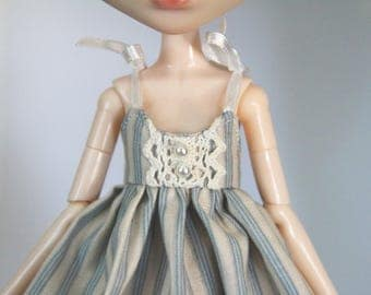 Ribbon and gum balls - 1/6 doll dress
