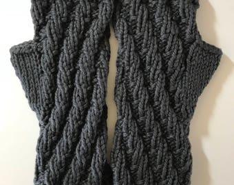 Organic Cotton Fingerless Gloves