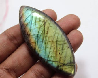 145.70cts Natural Multi flash Labradorite marquise 72X30X8 mm Labradorite loose gemstone amazing & beautifull Labradorite nice flash AA-71