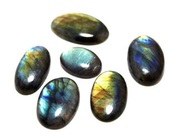 183.50cts Natural Multi flash Labradorite Mix Lot  6 peace  Labradorite loose gemstone amazing & beautifull Labradorite nice flash AA-35