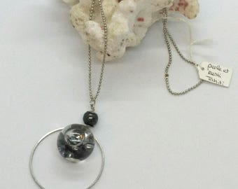 Tahitian KESHI bubble necklace