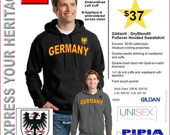 GERMANY HOODIES