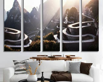 Mountains Wall Art Mountains Canvas Print Mountains Large Wall Decor Mountains Canvas Mountains Poster Print Mountains Home Decor Gift