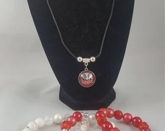 Team necklace- BAMA