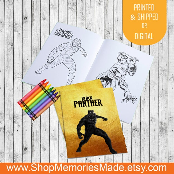 Custom Black Panther Marvel Coloring Pages - Black Panther Party ...
