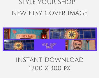 MEXICAN ETSY SHOP, Mex shop, etsy shop cover, etsy banner, stock photo, stock image, mock up, graphic design, styled desktop