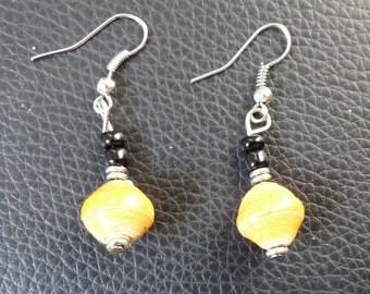 Ethical earrings - fair trade in the Kenya