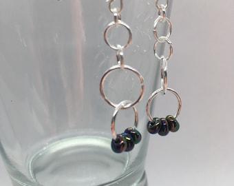 Pretty dangly drop earrings