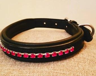 Bespoke Leather Dog Collar
