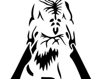 Dark Souls Capra Demon Decal