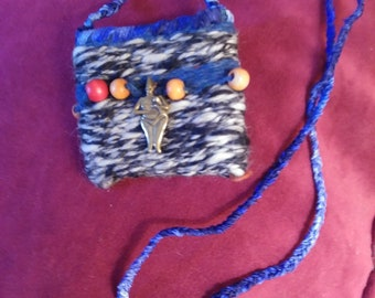 Anatolian Cat Goddess mojo bag