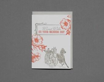 Wedding Wishes - Letterpress Card