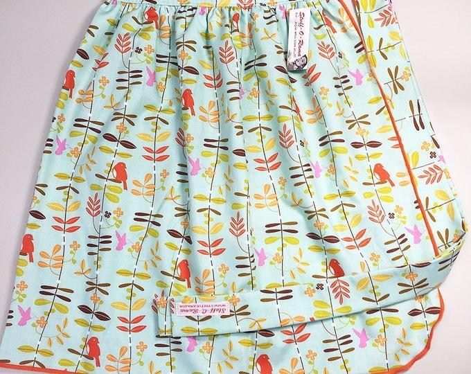 Skirt Apron - Vintage Pin Up Style - Put A Bird On It
