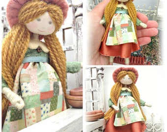 MEREDITH DOLL KIT / Limited Edition /  Vintage Style  Doll Making / by Verity Hope