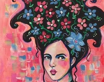 Portrait of Joy - Original Portrait Painting