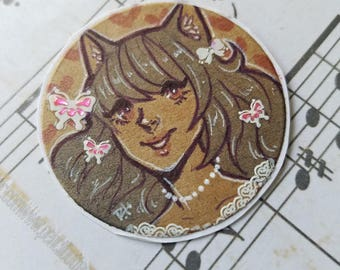 OOAK Art Sticker