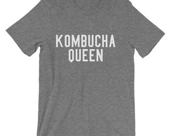 Kombucha Queen Shirt Kombucha Shirt Kombucha Queen Tee Kombucha Lover Kombucha T Shirt Booch TShirt Kombucha T-Shirt Brew Kombucha Tee