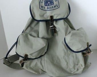 1966 Mt. Adams Sunfair Club Backpack, Yakima WA Back Pack Hiking Bag