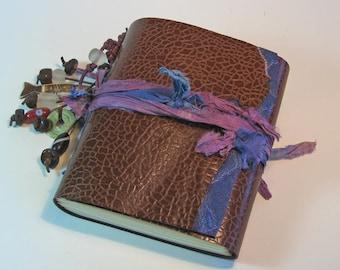 Leather Journal, Bohemian, Travel Journal, Leather Anniversary, Gypsy Journal, Traveler's Notebook, Yoga Journal, Writer's, Goddess Journal