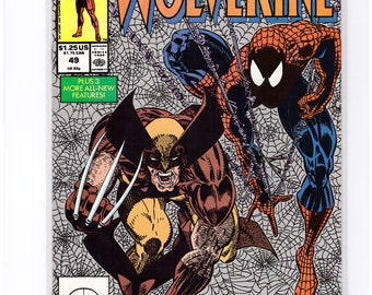 Issue 49 Wolverine with Spider-Man Comic Book