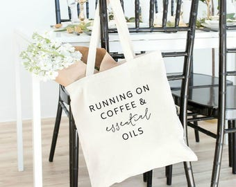 essential oil bag, essential oils, tote bag, EOs, young living, doterra, there's an oil for that, YLEOs, essential oil gift