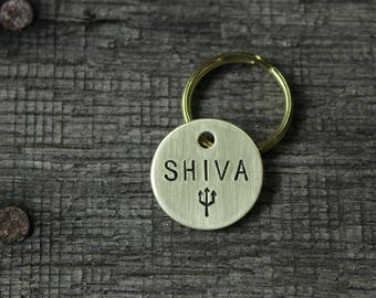 Pet ID tag - custom made for your cat or dog