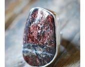Red Velvet Alurgite Ring