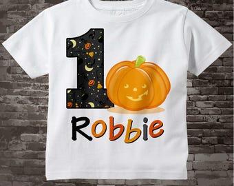 Pumpkin Birthday Shirt, First Birthday Pumpkin Shirt, Birthday Shirt, Fall Birthday party, Pumpkin Birthday Party, Fall Birthday 10022012b