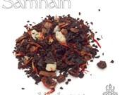 Samhain Loose Tea - loose leaf black tea, blackberry hazelnut, pagan holiday, Wiccan Sabbat, pagan altar offering, Halloween tea, witch brew