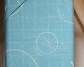 Fabric by Riley Blake Designs:  Rocket Age Light Blue