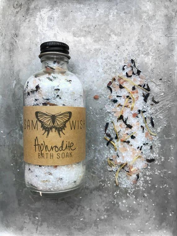 Aphrodite Bath Soak // All Natural // Organic // Vegan