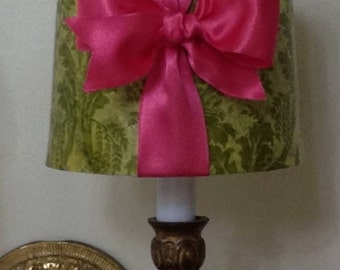 Chandelier Lamp Shade, Chandelier Lampshade, Mini Drum Lamp Shade, Sconce Lamp Shade