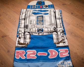 Star Wars R2 D2 Sleeping Bag Kids Size Vintage 1980s R2D2
