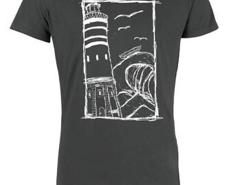 Lighthouse 2.0 Men T-Shirt Organic & Fair Wear _graphit