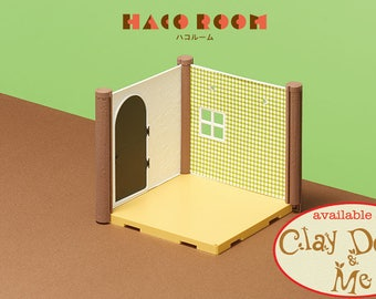 HACO Room Dollhouse Miniature, HACO Room Miniature Toy, by BANDAI Japan