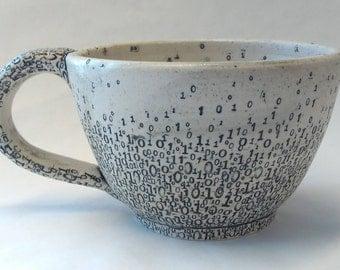 Binary Soup or Cappuccino Mug v2.0
