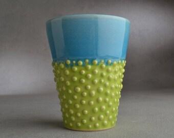 Dottie Tumbler Ready To Ship Dottie Cup by Symmetrical Pottery