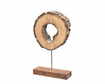 Reclaimed wood sculpture