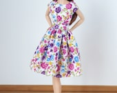 Flowery dress for Poppy Parker and Barbie Model Muse, Pivotal, New Silkstone or Made to Move