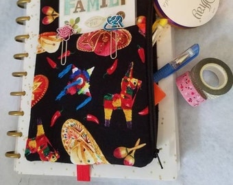 Mexican fiesta Planner pouch accessory holder