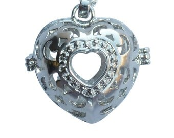 YOur perSOnal STYlish Essential oil necklace diffuser Steampunk Magical heART d1 0