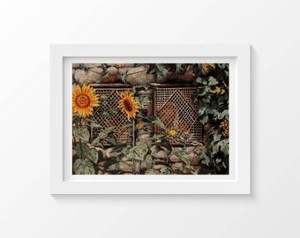 Cross Stitch Pattern Behold the Wall 25 x 20.5 inches, Jesus Cross Stitch, James Tissot, Cross Stitch Collectibles