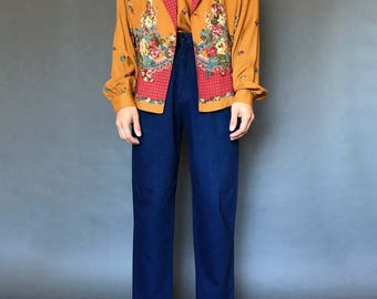 Bouquet Blouson Set