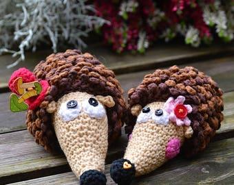 Crochet pattern - Hedgehog - Crochet decoration by VendulkaM - Amigurumi Pattern/ digital, DIY, pdf