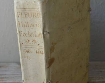 Antique Vellum Book