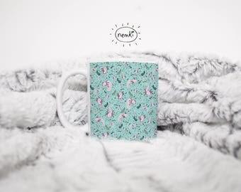 Cute Axolotl Mug, Axolotls, Axolotl Pattern Mug, Cute Axolotl Gifts, Axolotl Design, Axolotl Pattern, Pet Axolotl, Axolotl Fans, Axolotl