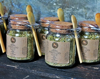 Gourmet Cooking Salt - Seasoning Blends & Flavored Salt - Salt Jar - Salt Gift - Luxury Salt Dispenser - Salt Container