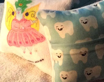 Mini Tooth Fairy Pillow with Pocket
