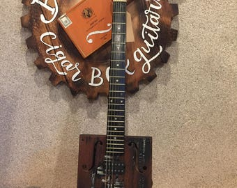 6 string Cigar Box Guitar Boulevard Beer 'The Calling'